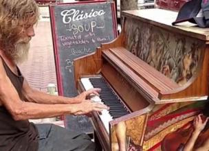 When This Homeless Man Played the Piano, His Life Was Transformed Forever!