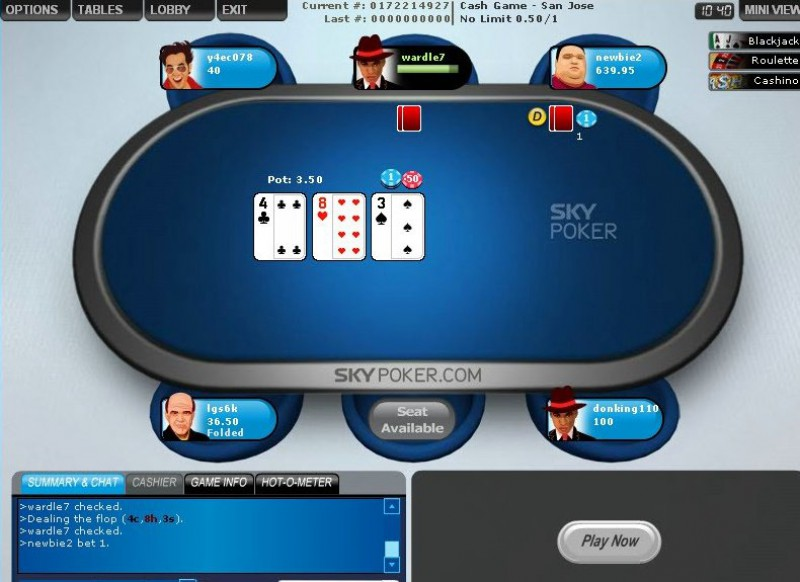 Sky Pokerscreenshot thumbnail