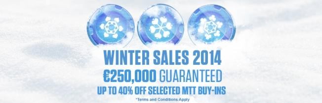iPoker Announces Tourney Buy-in Discounts During Winter Sale