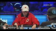 Antonio Esfandiari outplays an amatuer at the WSOP