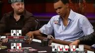 Phil on Phil Cooler - Hellmuth Collides with Ivey