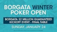 Borgata Winter Poker Open 2016: Event 1 $2m GTD Final Table