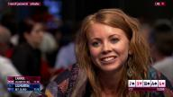 Lynn Gilmartin Tries to Bluff Charlie Carrel PokerStars