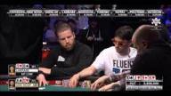 WSOP 2014 ME - Van Hoof and Larrabe Play A Big Pot