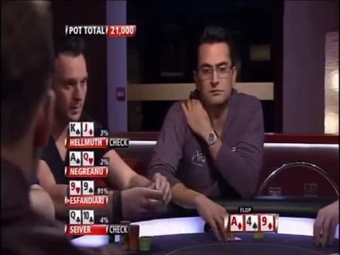 Antonio Esfandiari puts Negreanu to Test