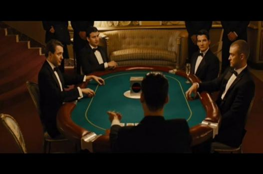 In Time (Movie) - Wagering time in poker