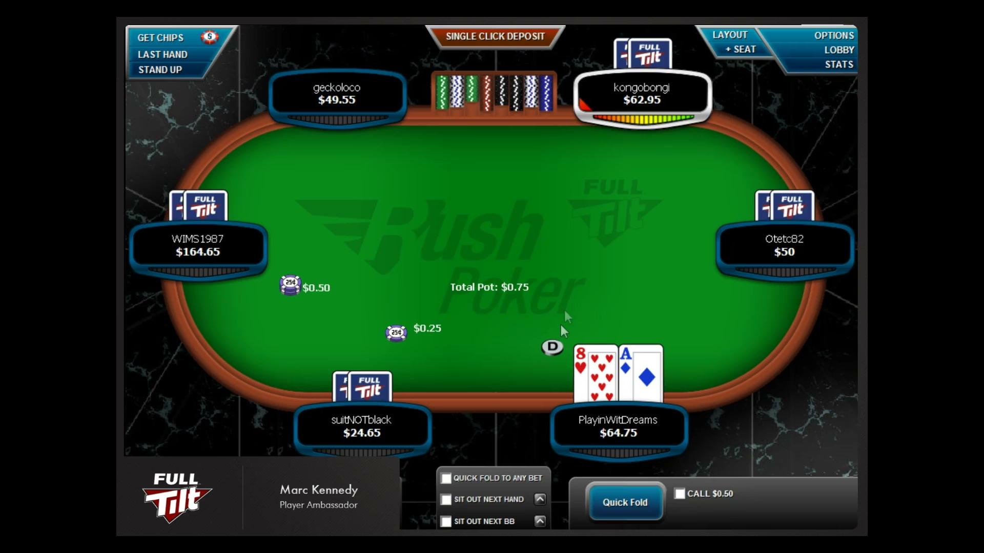 Marc 'PlayinWitDreams' Kennedy 50nl Rush Live Play