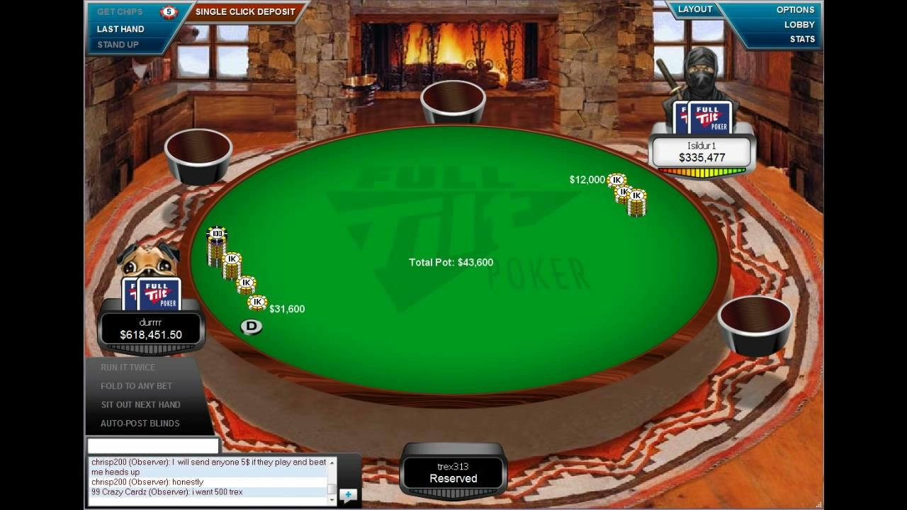 Online High Stakes - durrrr and Isildur1 Playing $700k Pot