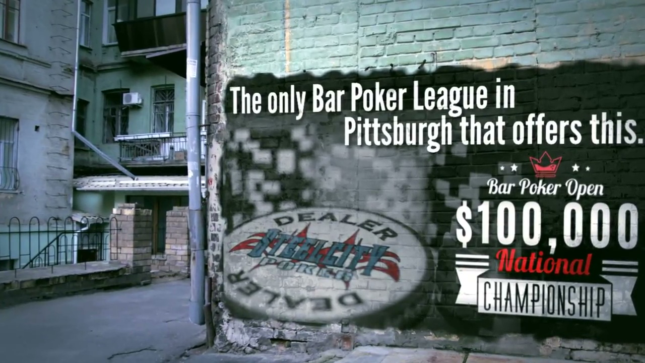 Pittsburgh's Bar Poker League
