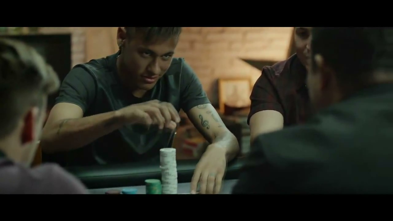 PokerStars Neymar Jr Advert