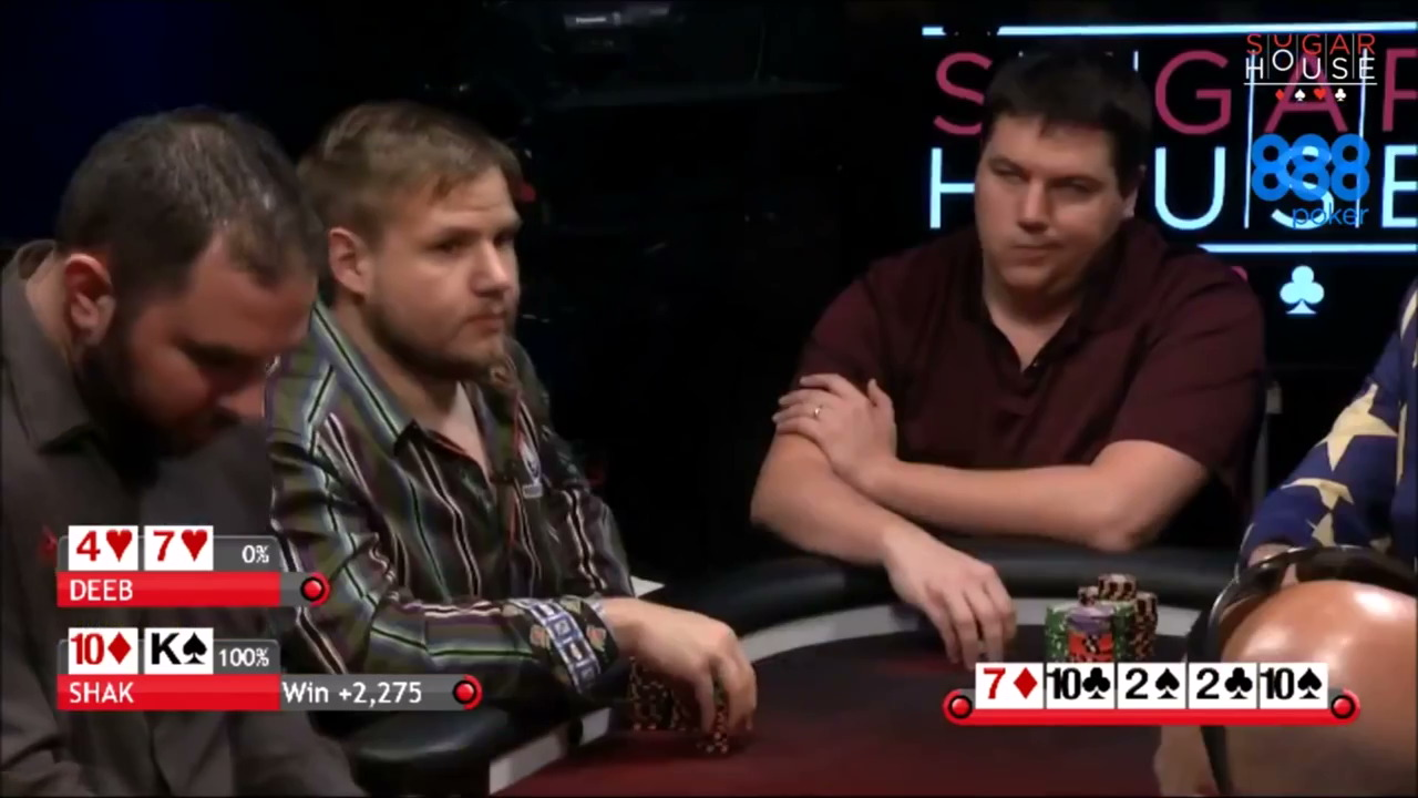 Shaun Deeb vs Dan Shak Poker Night In America Cash Game Hand