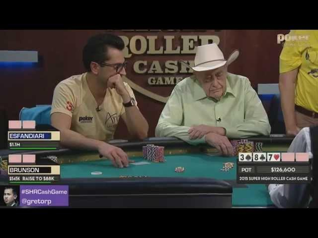 Super High Roller Cash Game 2015 - Day 1 Highlights