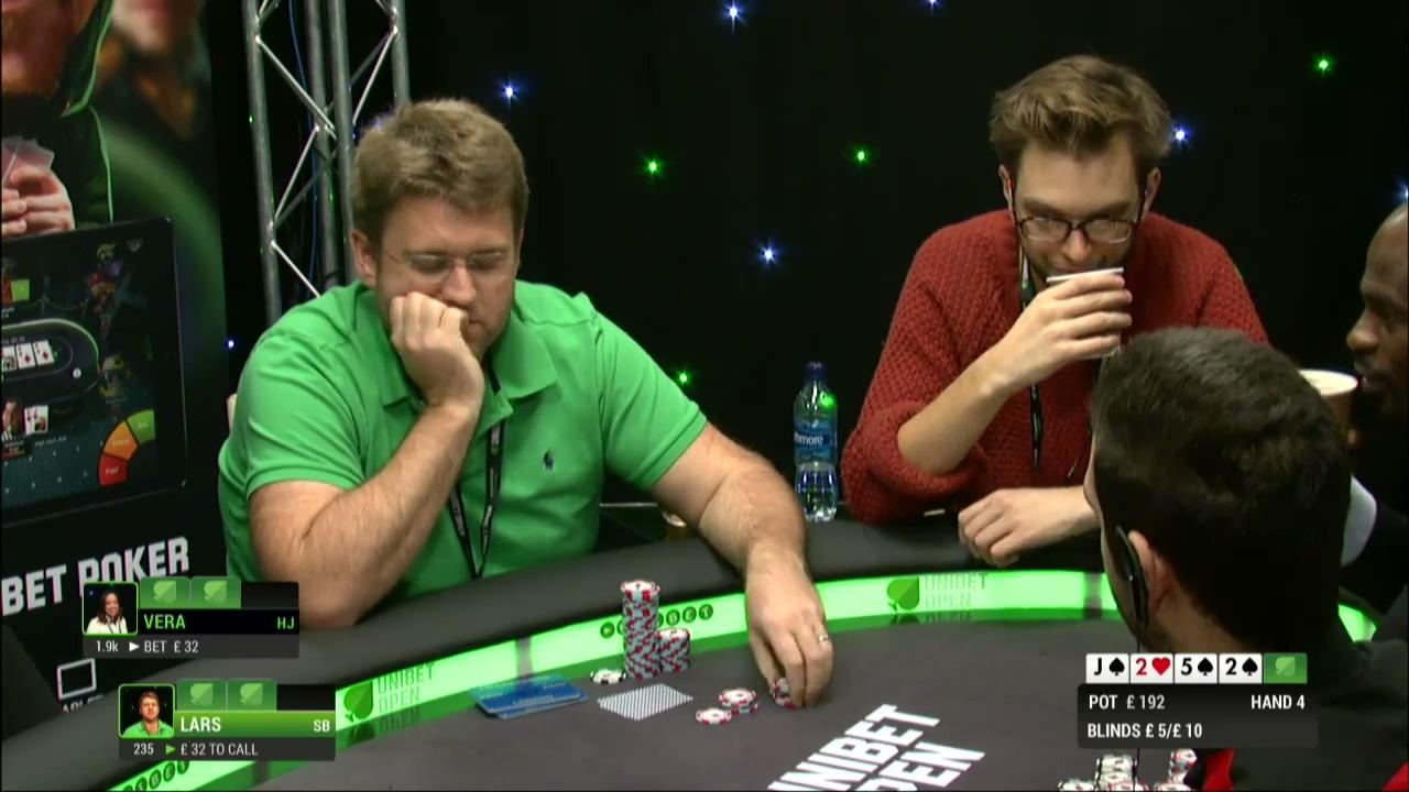 Unibet Golden Cash Game Day 1 (Part 1)