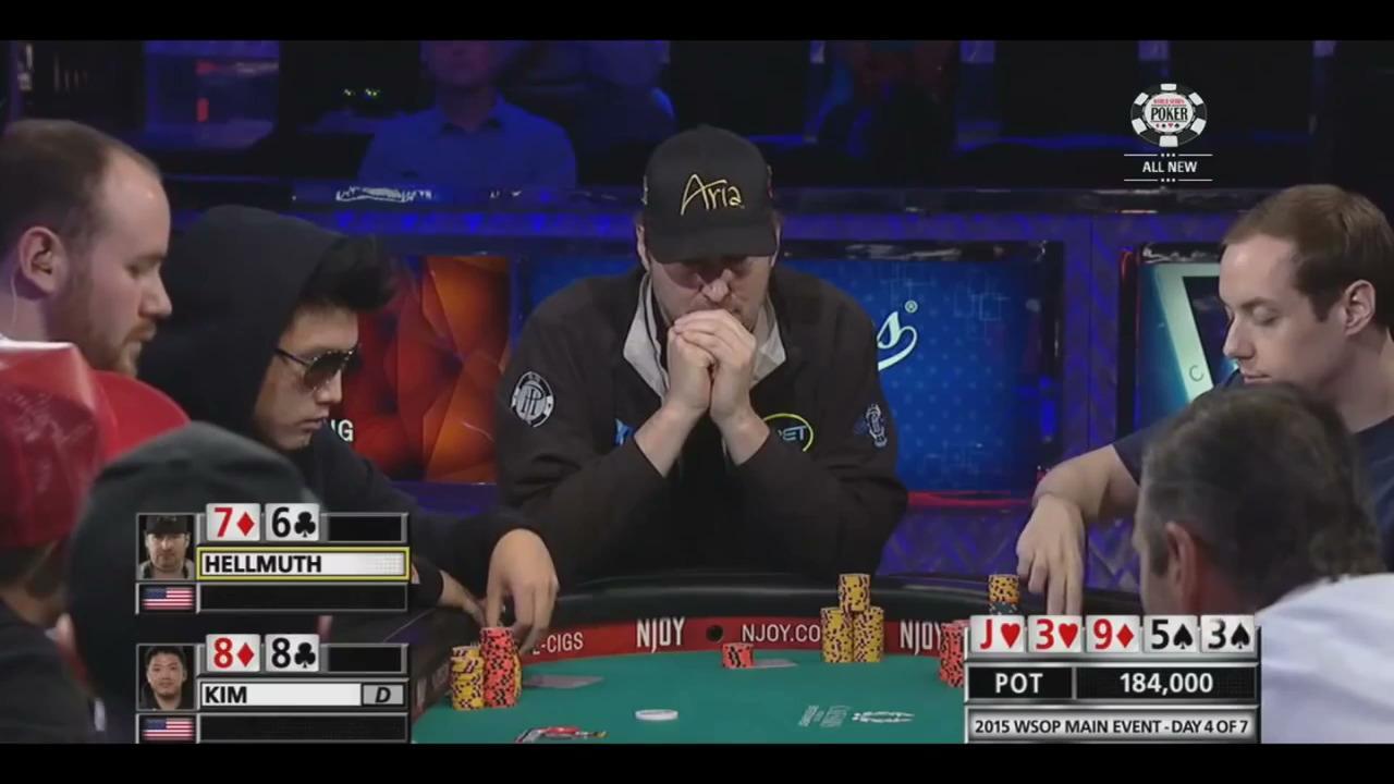 2015 WSOP - Hellmuth Tries a Bluff