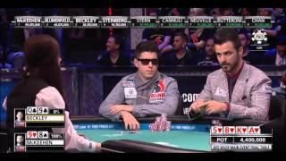 2015 WSOP ME - Beckley Bluffs McKeehen on the Final Table