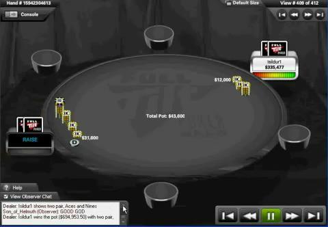 Durrrr vs. Isildur1 $695K Pot Full Tilt Poker