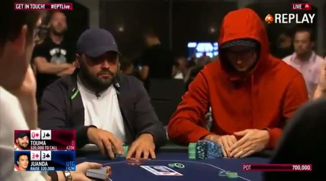 EPT BARCELONA 2015 Amir Touma busts in 7th place for €194,100