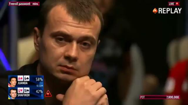 EPT BARCELONA 2015 Denys Shafikov busts in 4th place