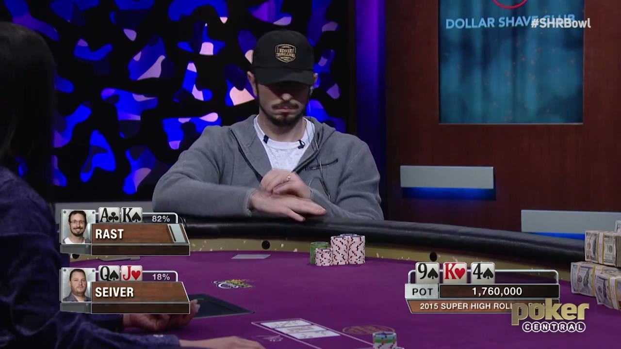 Flush Kickers - Seiver vs Rast 2015 Super High Roller Bowl