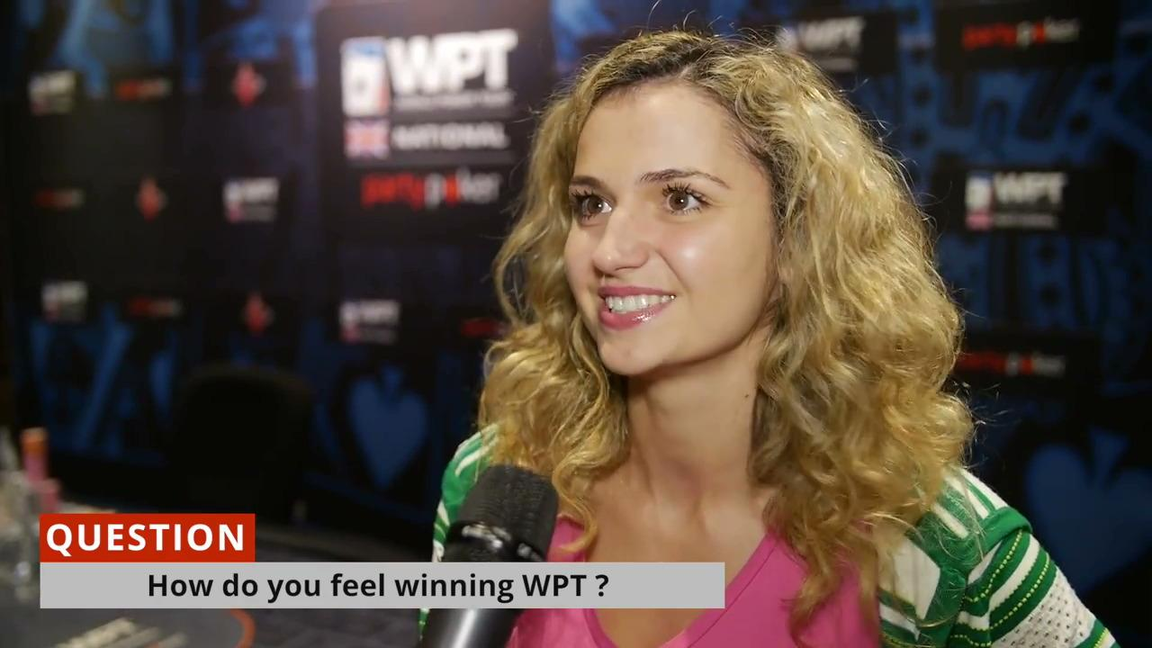 Irina Nikolaidi Wins 2015 WPTN UK London