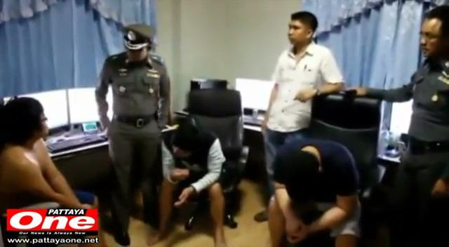 Korean mob arrested in Pattaya-based Online Gambling Operation