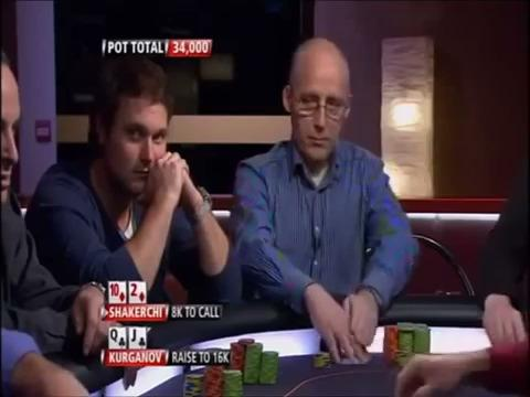 Party Poker Premier League - Kurganov Outplays Shakerchi