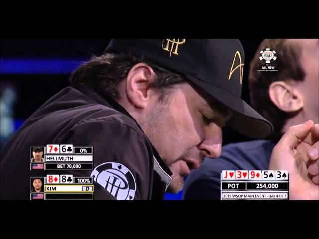 Phil Hellmuth - Bluff and Speech WSOP 2015