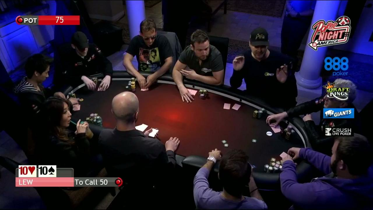Poker Night in America - Vegas Cash Game - Day 1 Part 2
