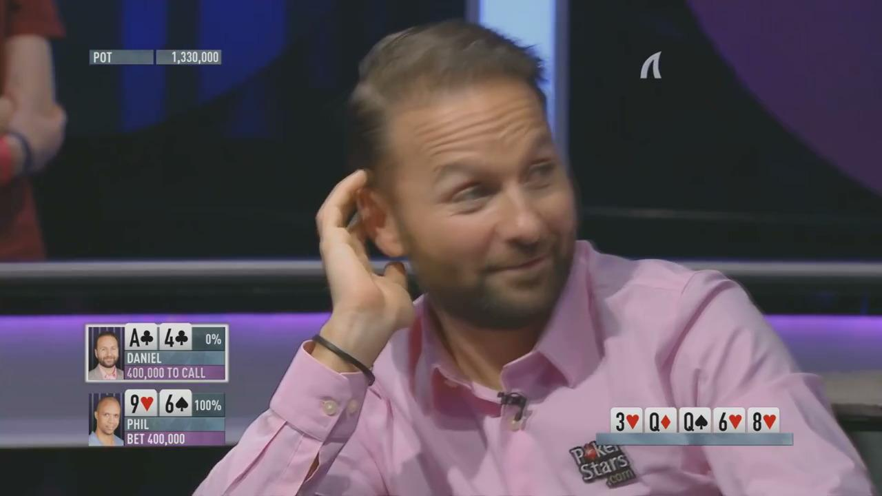 Shark Cage - Ivey Floats Against Negreanu