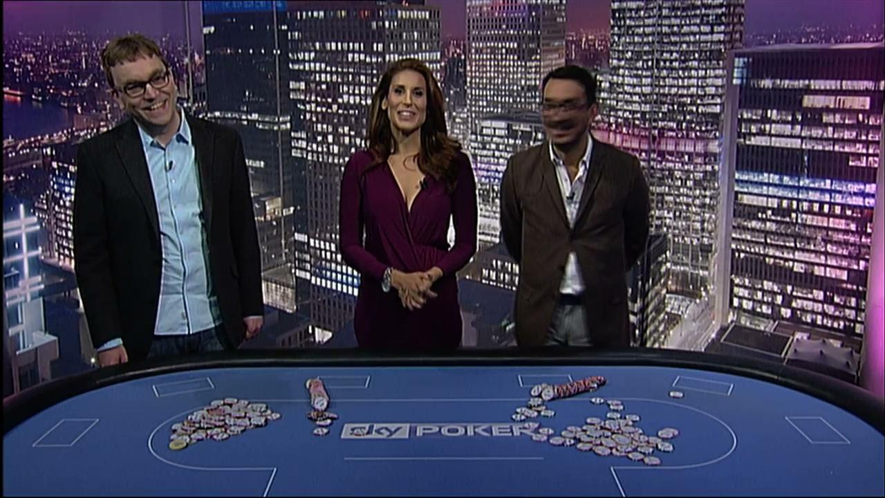 Sky Poker Chip Stack Challenge - Neil Channing vs Nik Persau