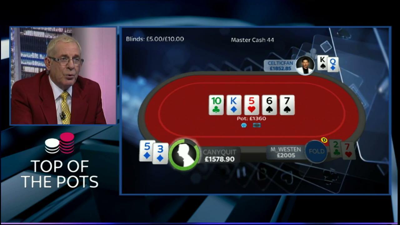 Sky Poker Top Of The Pots