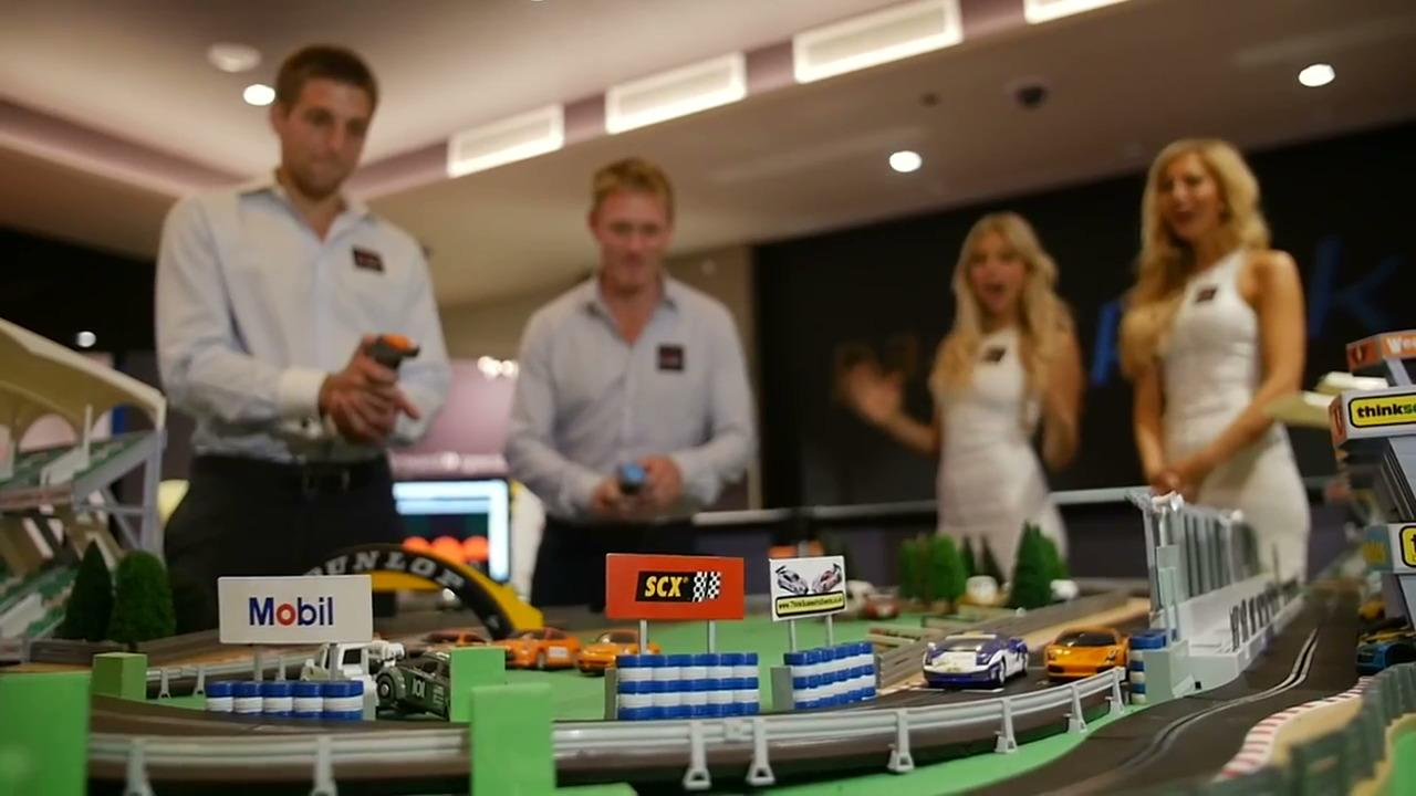Tony Dunst swaps poker for Scalextric racing