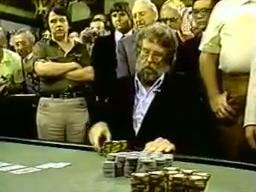 WSOP 1982 final hand Strauss vs Tomko