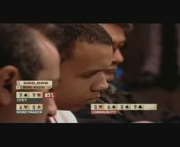 WSOP 2003 Moneymaker vs Ivey