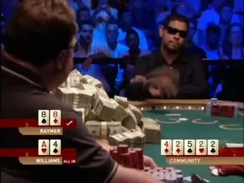 WSOP 2004 Raymer vs Williams Final Hand