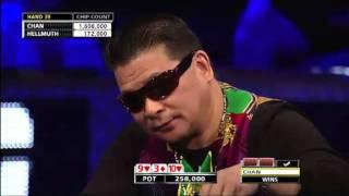 WSOP 2011 Grudge match 1 - Hellmuth Vs Chan