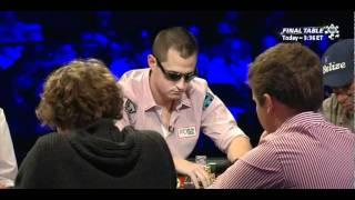 WSOP 2011 Main Event Final Table - Part 1