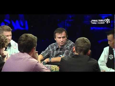 WSOP 2011 Main Event Final Table - Part 2