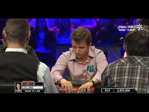 WSOP 2011 Main Event Final Table - Part 3