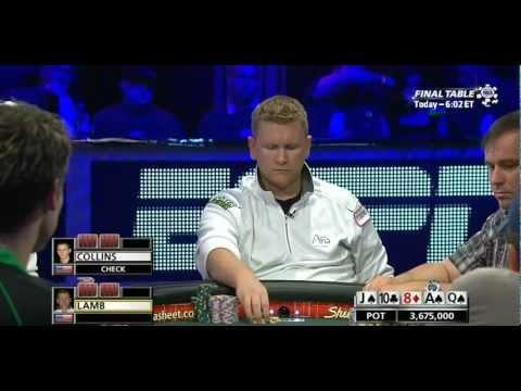 WSOP 2011 Main Event Final Table - Part 4