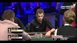 WSOP 2011 Main Event Final Table - Part 5