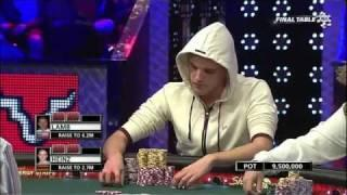WSOP 2011 Main Event Final Table - Part 7
