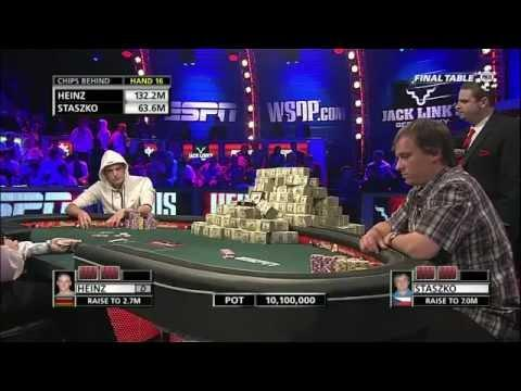 WSOP 2011 Main Event Final Table - Part 8
