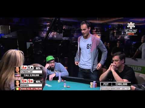 WSOP 2014 - Main Event - Episode 13