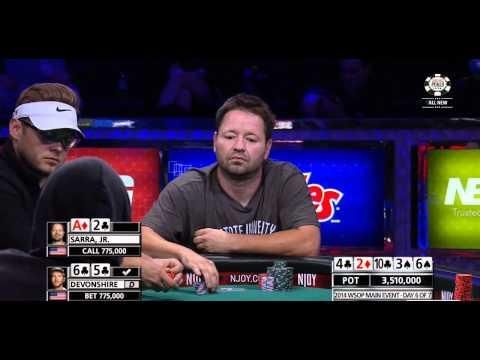 WSOP 2014 - Main Event - Episode 9