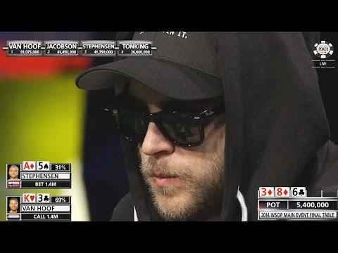 WSOP 2014 - Main Event - Final Table - Part 2/3