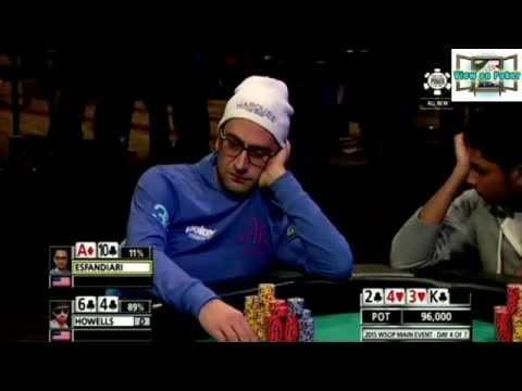 WSOP 2015 - Esfandiari Desperately Defends
