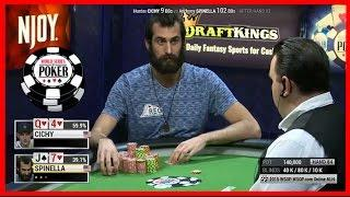WSOP 2015 -  Spinella Wins The First Ever Online Bracelet