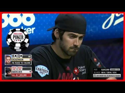 WSOP 2015 Jason Mercier wins $5k NL 6-max