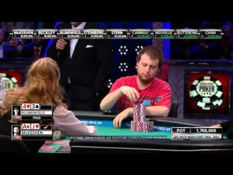 WSOP 2015 - Main Event Final Table - Day 2 (4/5)